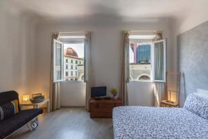 Zona de estar de Piazza del Mercato Centrale