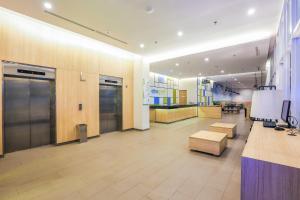 The lobby or reception area at Hotel Citradream Bintaro