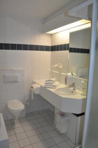 Salle de bains dans l'établissement Liberty - Vakantiecentrum