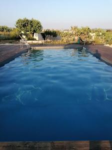 The swimming pool at or near CASADORATA buen retiro vista mare
