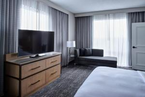 A television and/or entertainment center at Auburn Hills Marriott Pontiac
