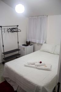Cama ou camas em um quarto em Pouso Verde Bed and Breakfast