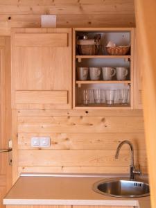 A kitchen or kitchenette at Holiday Homes Eko Klanac