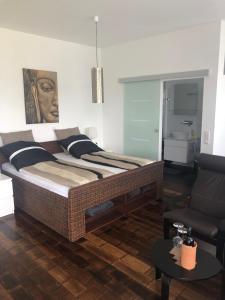 Ein Bett oder Betten in einem Zimmer der Unterkunft Business Appartements