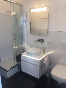 Ein Badezimmer in der Unterkunft Business Appartements