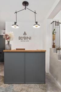 The lobby or reception area at Blubini Heritage House