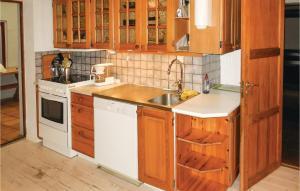 Ett kök eller pentry på Holiday home Östra Ansgarigatan Limhamn