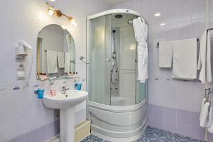 Ванная комната в Гостиница Анзас