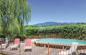 A view of the pool at Holiday home Mormoiron KL-954 or nearby