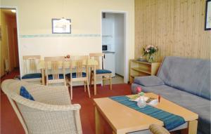 Ein Restaurant oder anderes Speiselokal in der Unterkunft One-Bedroom Apartment in Freyung
