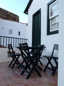 A balcony or terrace at Casa Da Chica