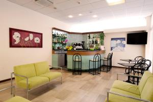The lobby or reception area at Hotel Royal