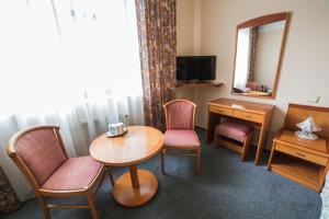 Posezení v ubytování Hotel Dalimil