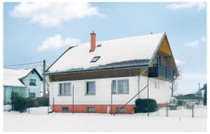 Holiday home Jindrichovice during the winter