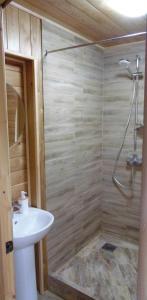 A bathroom at Guesthouse Sunrise