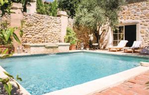 The swimming pool at or near Holiday home Rue de la Serre