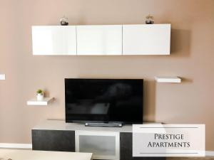 A television and/or entertainment centre at Coffee Apartment