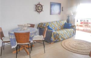 A seating area at Four-Bedroom Holiday Home in La Manga del Mar Menor