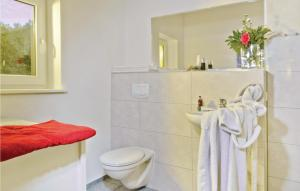 Ein Badezimmer in der Unterkunft Holiday Home Pinnow 06