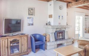 A seating area at Holiday home Brandal J-691