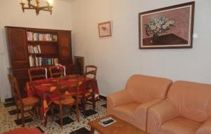 A seating area at Holiday home Fitou AB-1323