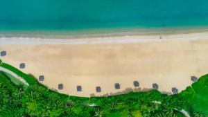 Vue panoramique sur l'établissement Banyan Tree Sanya
