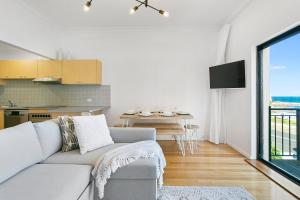 A seating area at The Rooftop - A Bondi Beach Holiday Home