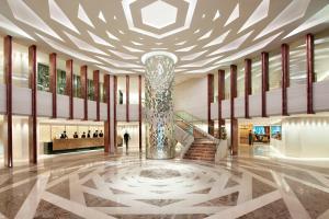 The lobby or reception area at Mandarin Oriental Jakarta