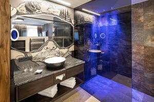 Ванная комната в Hotel Alte Post
