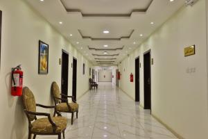 The lobby or reception area at OYO 284 Taj Alrayan