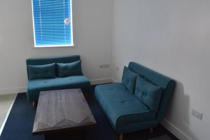 A seating area at 239 Hessle road