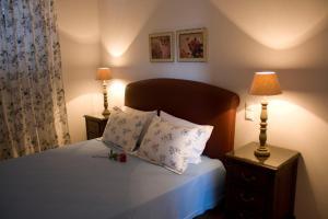 Ένα ή περισσότερα κρεβάτια σε δωμάτιο στο Anthias Garden