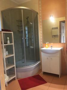 Łazienka w obiekcie Apartament - Gdańsk-Oliwa