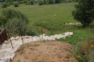 A garden outside Holiday Home in Drakino