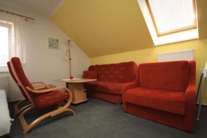Posedenie v ubytovaní Apartmán pod Černou horou