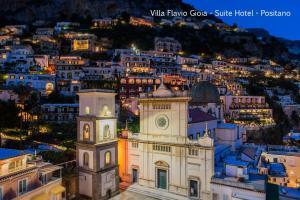 A bird's-eye view of Villa Flavio Gioia