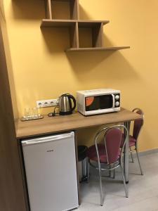 Кухня или мини-кухня в Friendly House