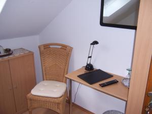 Küche/Küchenzeile in der Unterkunft Gästehaus Schneider