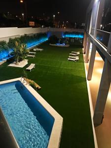 A view of the pool at azz Valencia Congress Hotel&Spa or nearby