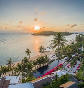 Vista de la piscina de Anantara Lawana Koh Samui Resort o alrededores