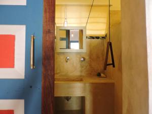 A bathroom at Paje by Night