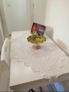 Letto o letti in una camera di Casa Vacanze Andolina White