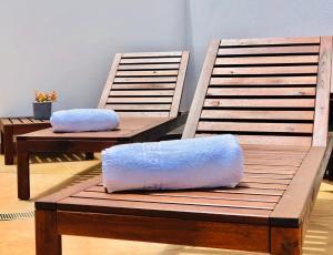 Zona de estar de Lovely Apartment in Lanzarote