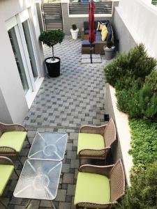 A porch or other outdoor area at Holiday Home Aspalathos