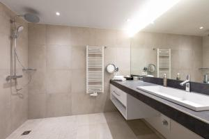 Ein Badezimmer in der Unterkunft Fritz Lauterbad