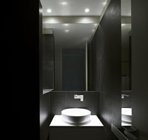 A bathroom at Hotel Villa Belvedere