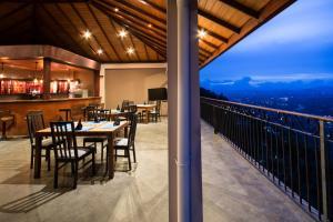 Ceyloni Panorama Resortにあるレストランまたは飲食店