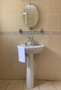 A bathroom at Clones 'Greenjoy - B&B
