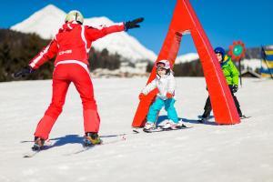 Катание на лыжах на территории отеля или поблизости