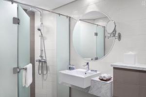 حمام في ليفا للشقق الفندقية
